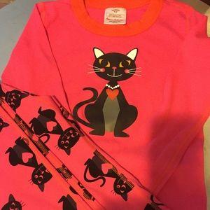 Girls Hanna Anderson size 10 NWOT pajamas